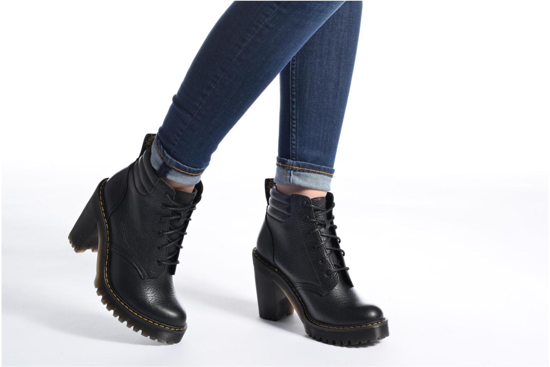 Bottines et boots Dr. Martens Persephone Noir vue bas / vue portée sac