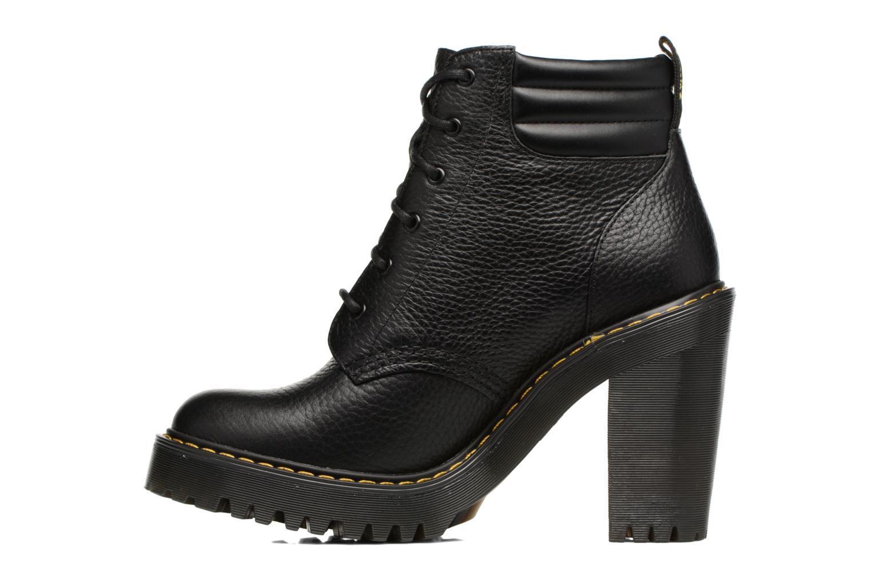 Bottines et boots Dr. Martens Persephone Noir vue face