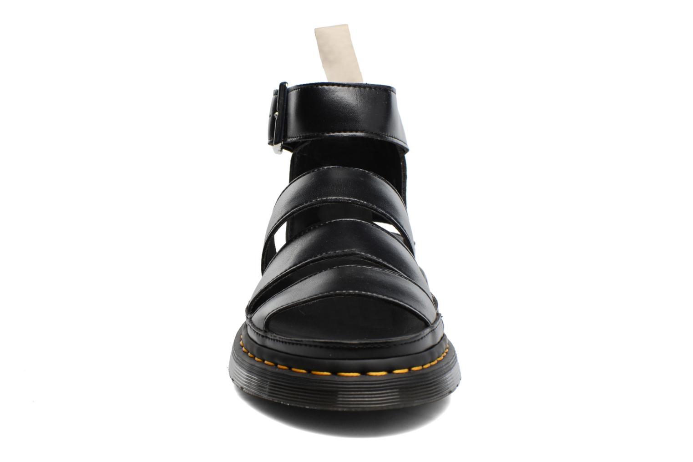 Sandales et nu-pieds Dr. Martens V Clarissa II Noir vue portées chaussures