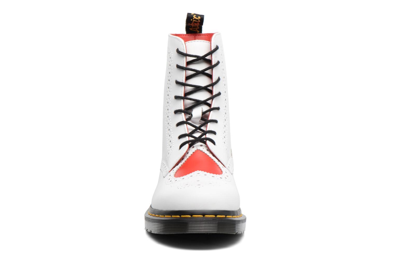 Bottines et boots Dr. Martens Bentley Blanc vue portées chaussures