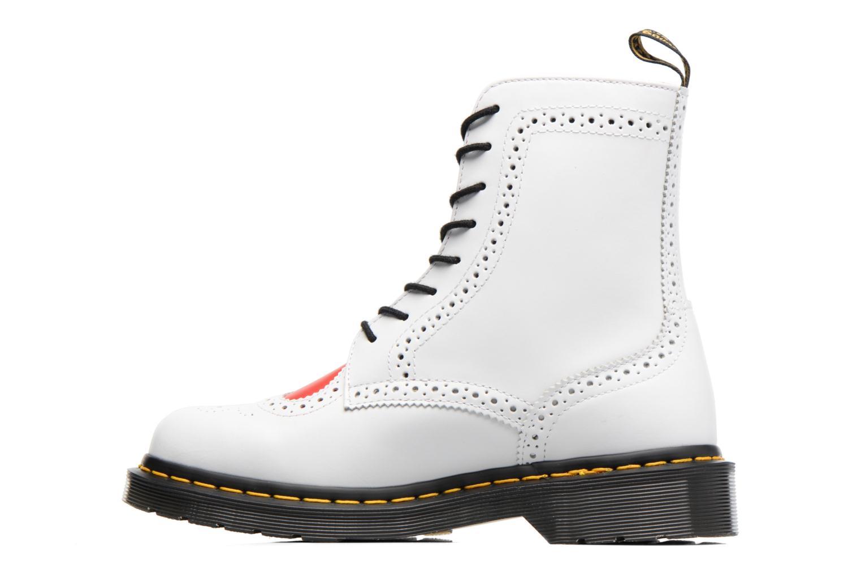 Bottines et boots Dr. Martens Bentley Blanc vue face