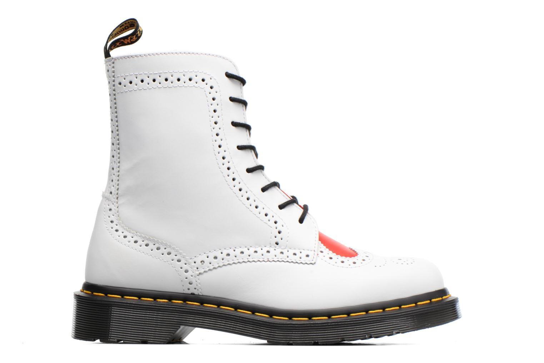 Bottines et boots Dr. Martens Bentley Blanc vue derrière