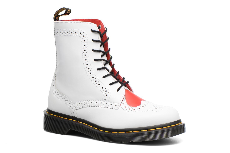 Bottines et boots Dr. Martens Bentley Blanc vue détail/paire