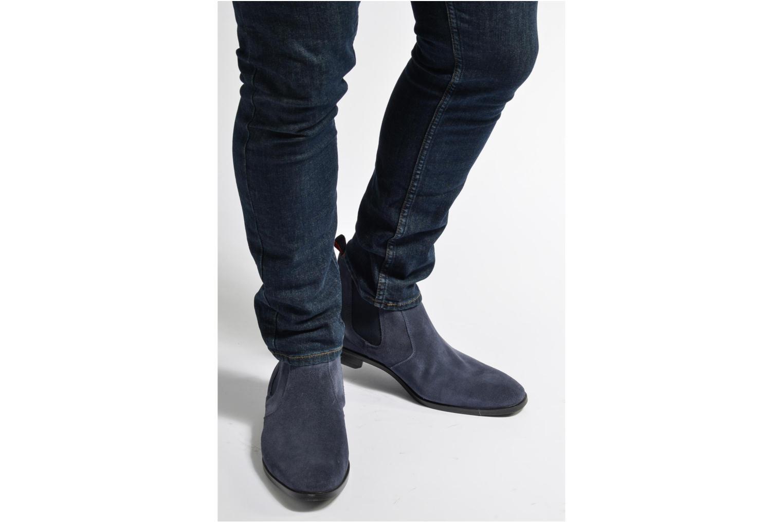 Bottines et boots Mr SARENZA Noragellomo Bleu vue bas / vue portée sac