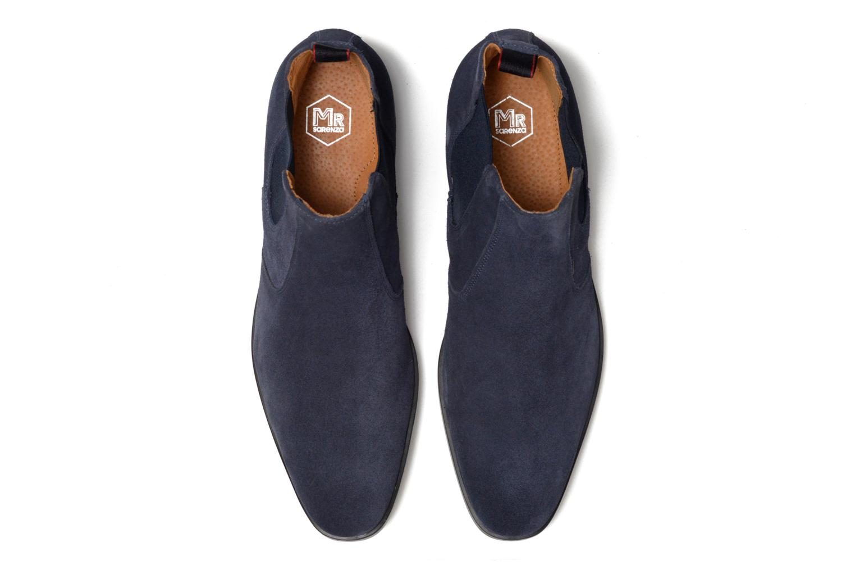 Bottines et boots Mr SARENZA Noragellomo Bleu vue portées chaussures
