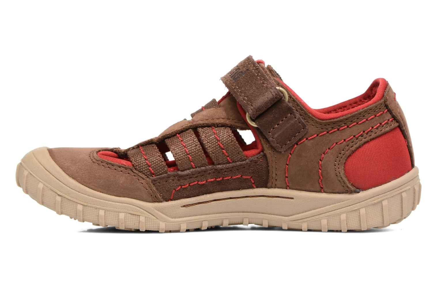 Sandals Timberland Castleton Sporty Fisherma Brown front view
