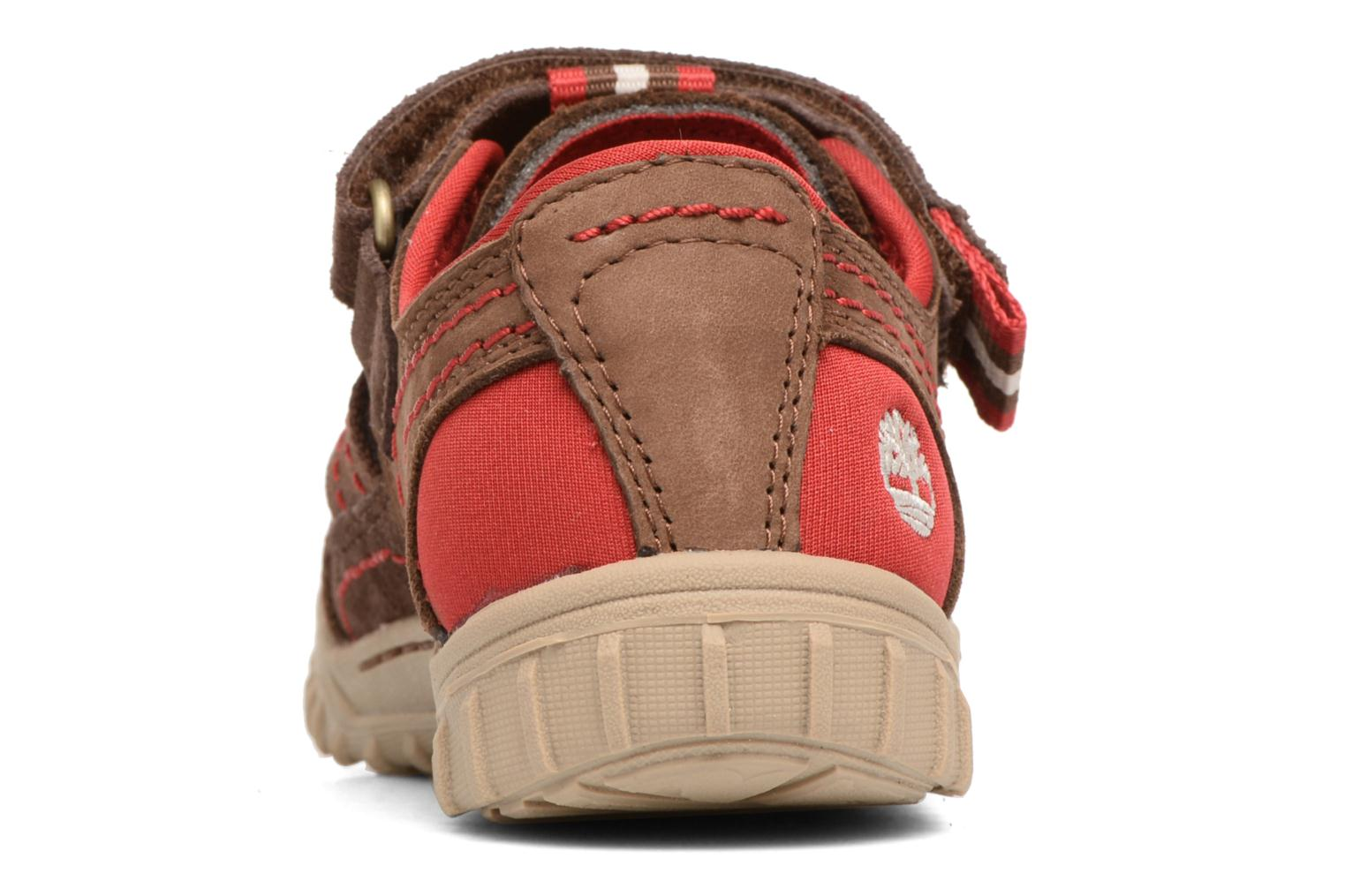 Sandals Timberland Castleton Sporty Fisherma Brown view from the right