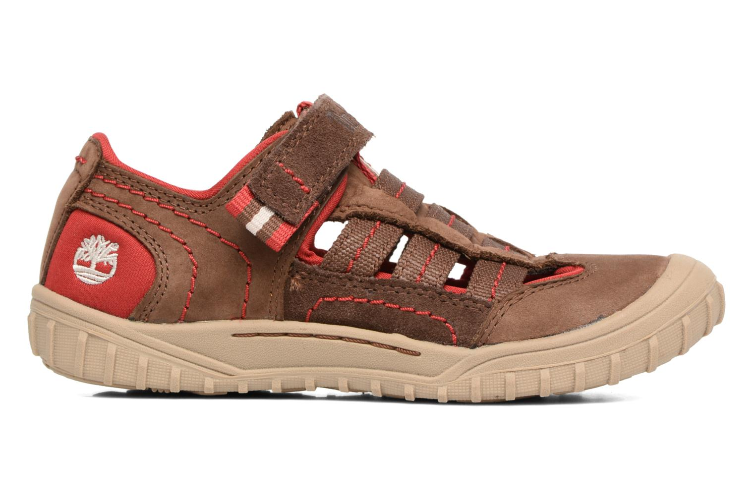 Sandals Timberland Castleton Sporty Fisherma Brown back view