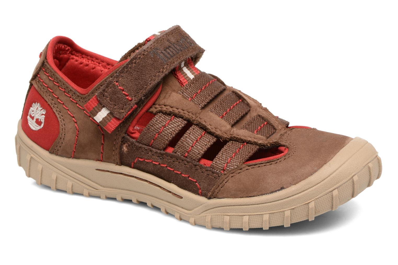 Sandals Timberland Castleton Sporty Fisherma Brown detailed view/ Pair view