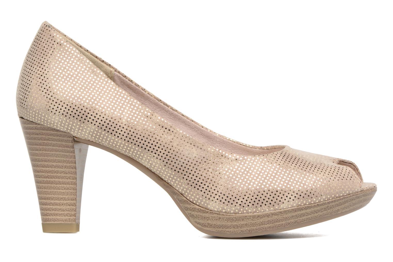 Zapatos de tacón Marco Tozzi Wose Oro y bronce vistra trasera
