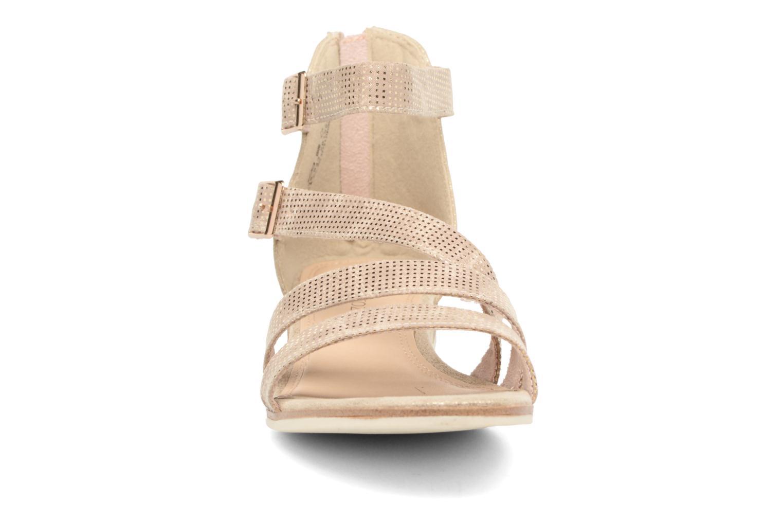 Sandales et nu-pieds Marco Tozzi Meko Or et bronze vue portées chaussures