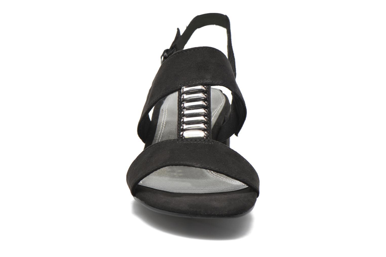 Sandals Marco Tozzi Nyla Black model view
