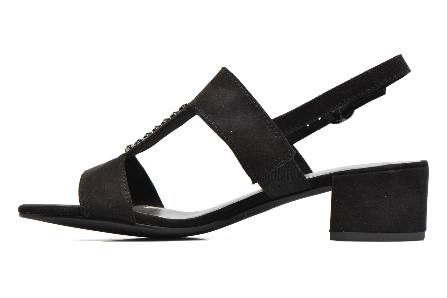 Sandals Marco Tozzi Nyla Black front view