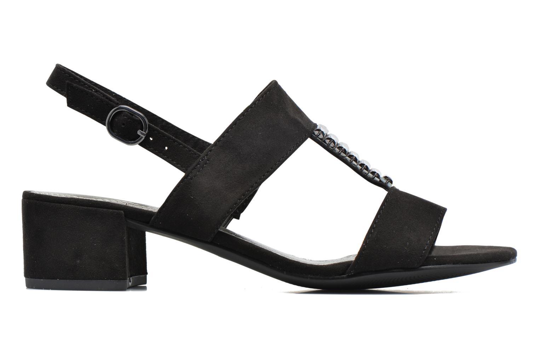 Sandals Marco Tozzi Nyla Black back view