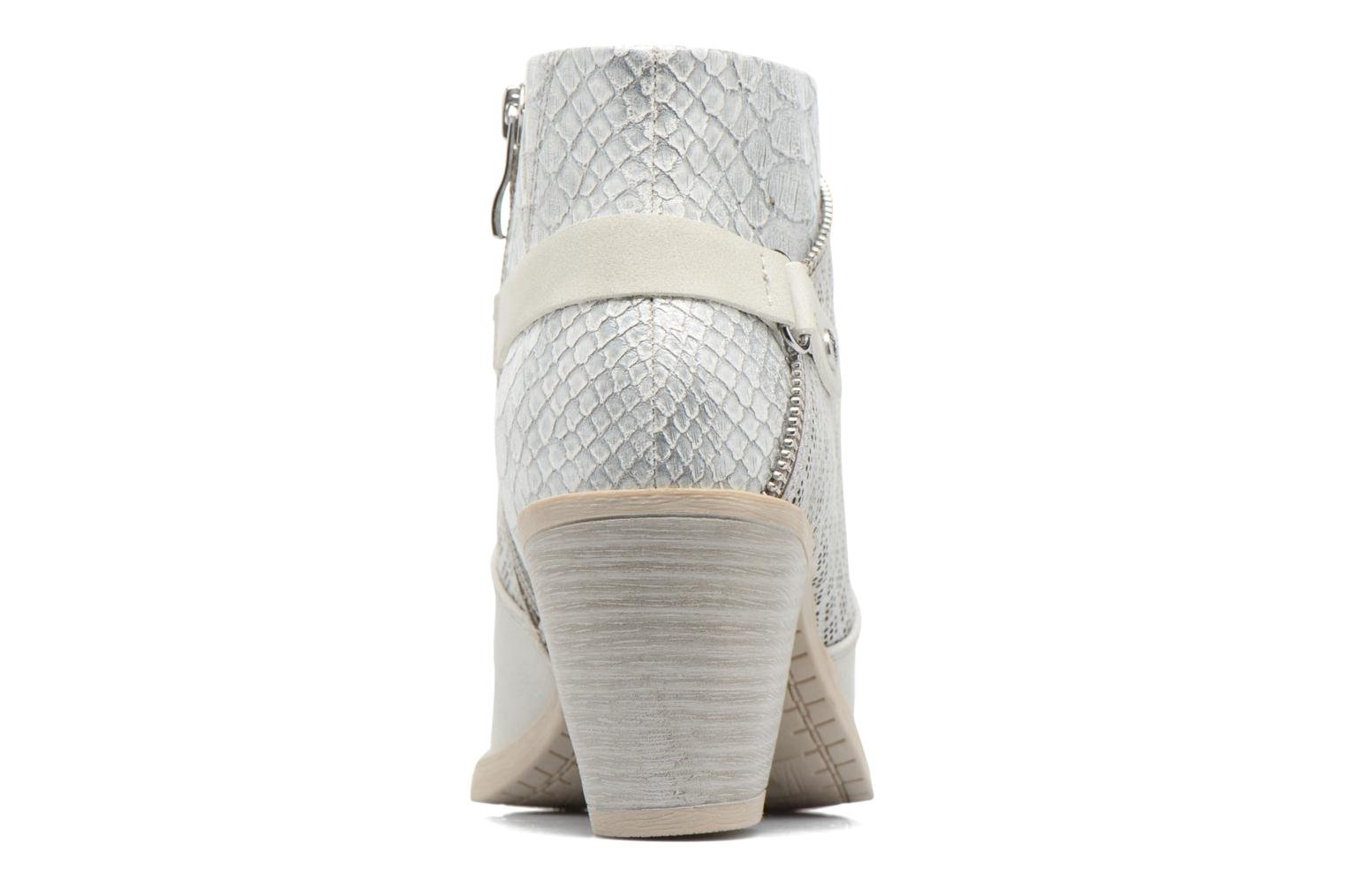 Ankle boots Marco Tozzi Tillou Grey view from the right