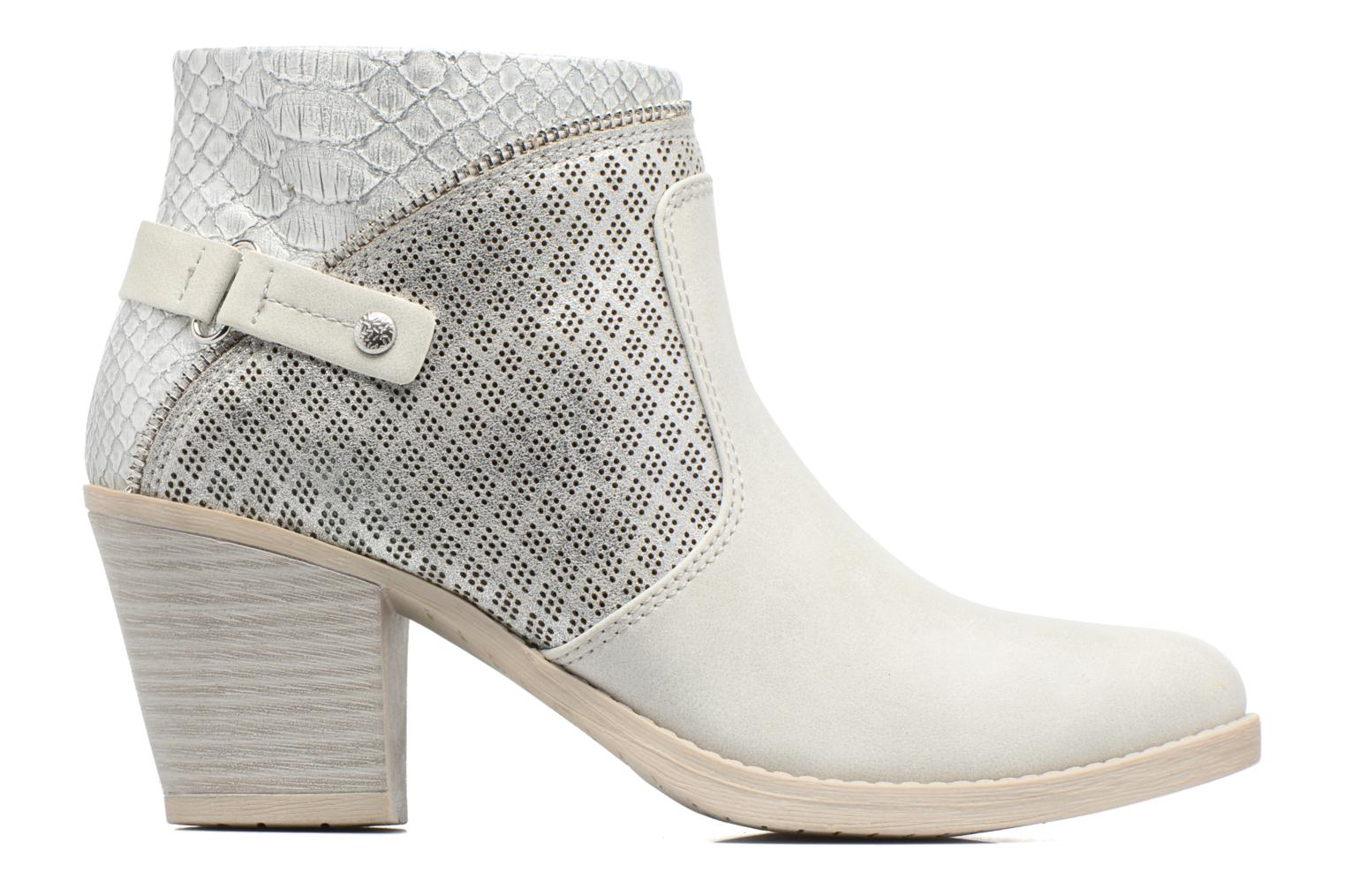 Ankle boots Marco Tozzi Tillou Grey back view