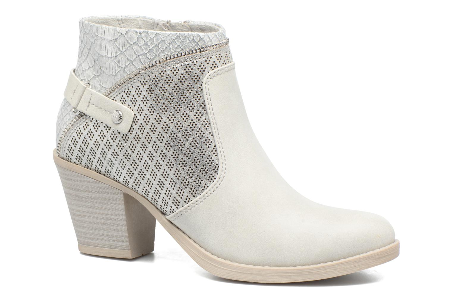 Ankle boots Marco Tozzi Tillou Grey detailed view/ Pair view