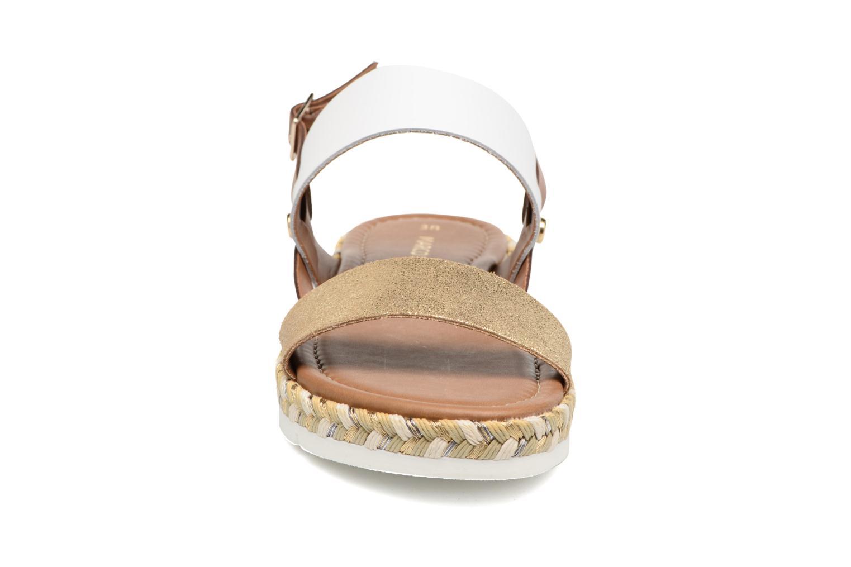 Sandales et nu-pieds Marco Tozzi Ypi Blanc vue portées chaussures
