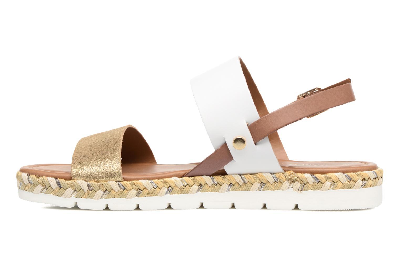 Sandales et nu-pieds Marco Tozzi Ypi Blanc vue face