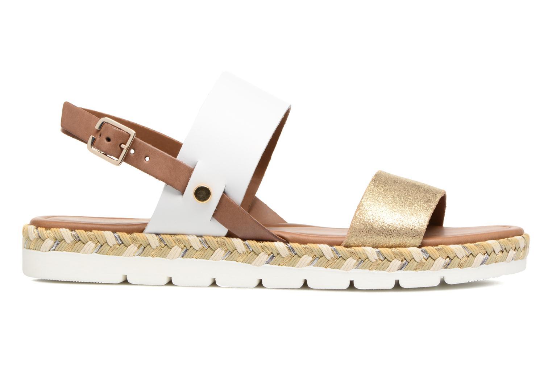 Sandales et nu-pieds Marco Tozzi Ypi Blanc vue derrière