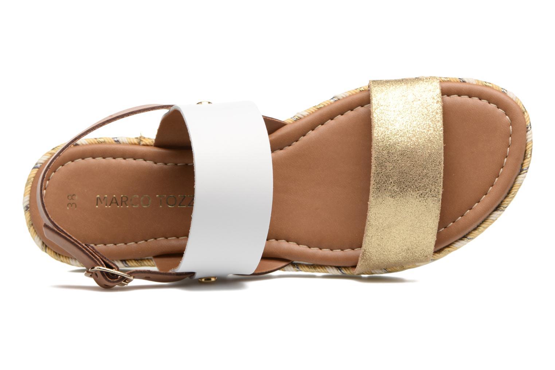 Sandales et nu-pieds Marco Tozzi Ypi Blanc vue gauche