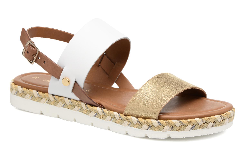 Sandales et nu-pieds Marco Tozzi Ypi Blanc vue détail/paire