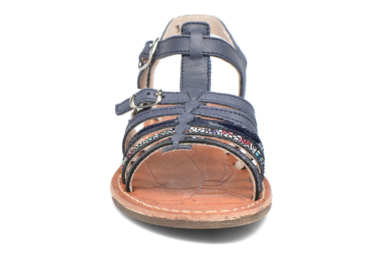 Sandales et nu-pieds Achile Bangkok Bleu vue portées chaussures