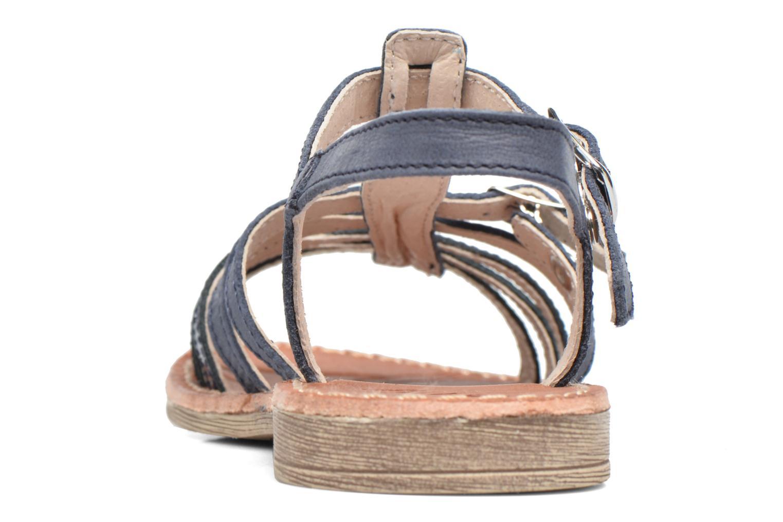 Sandales et nu-pieds Achile Bangkok Bleu vue droite