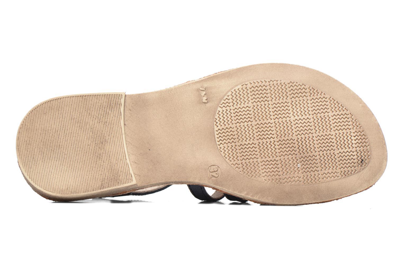 Sandales et nu-pieds Achile Bangkok Bleu vue haut