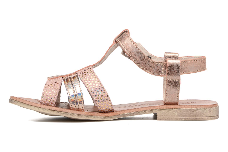 Sandales et nu-pieds Achile Kimitsu Rose vue face