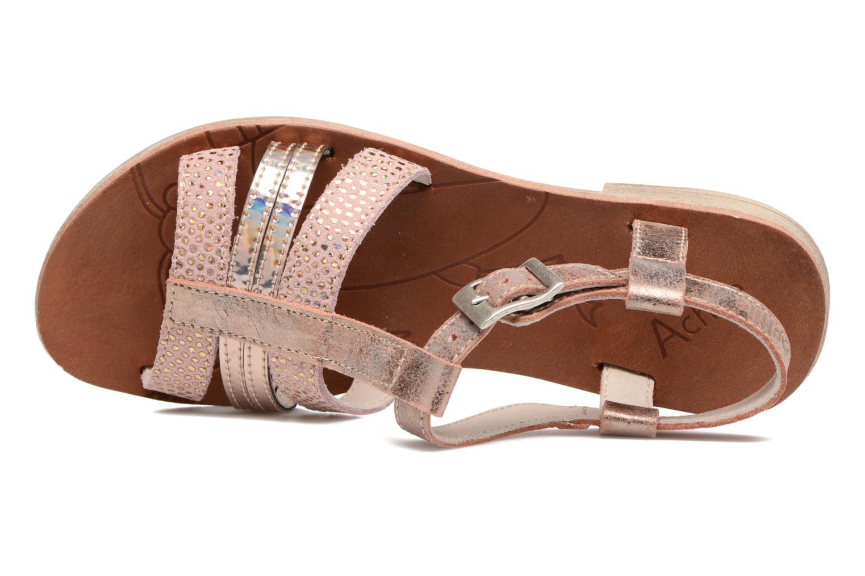 Sandales et nu-pieds Achile Kimitsu Rose vue gauche