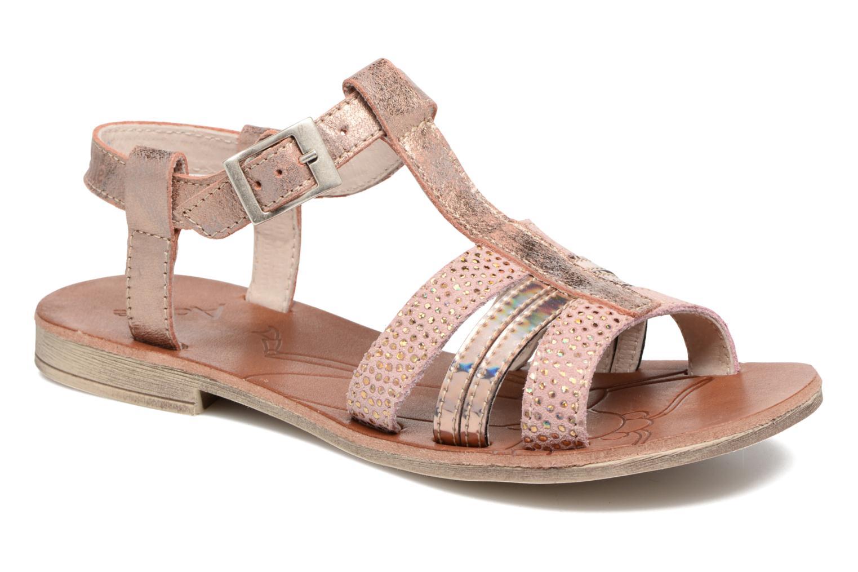 Sandales et nu-pieds Achile Kimitsu Rose vue détail/paire