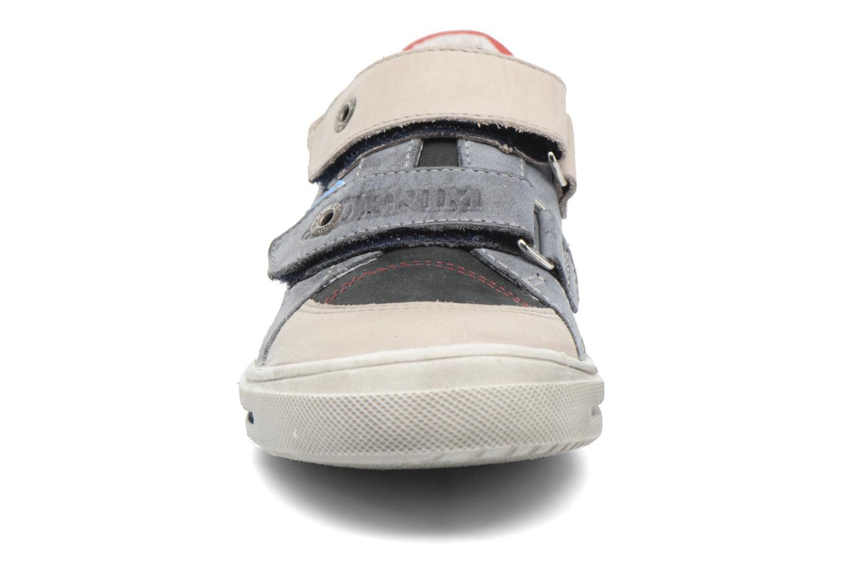 Baskets GBB Phil Bleu vue portées chaussures