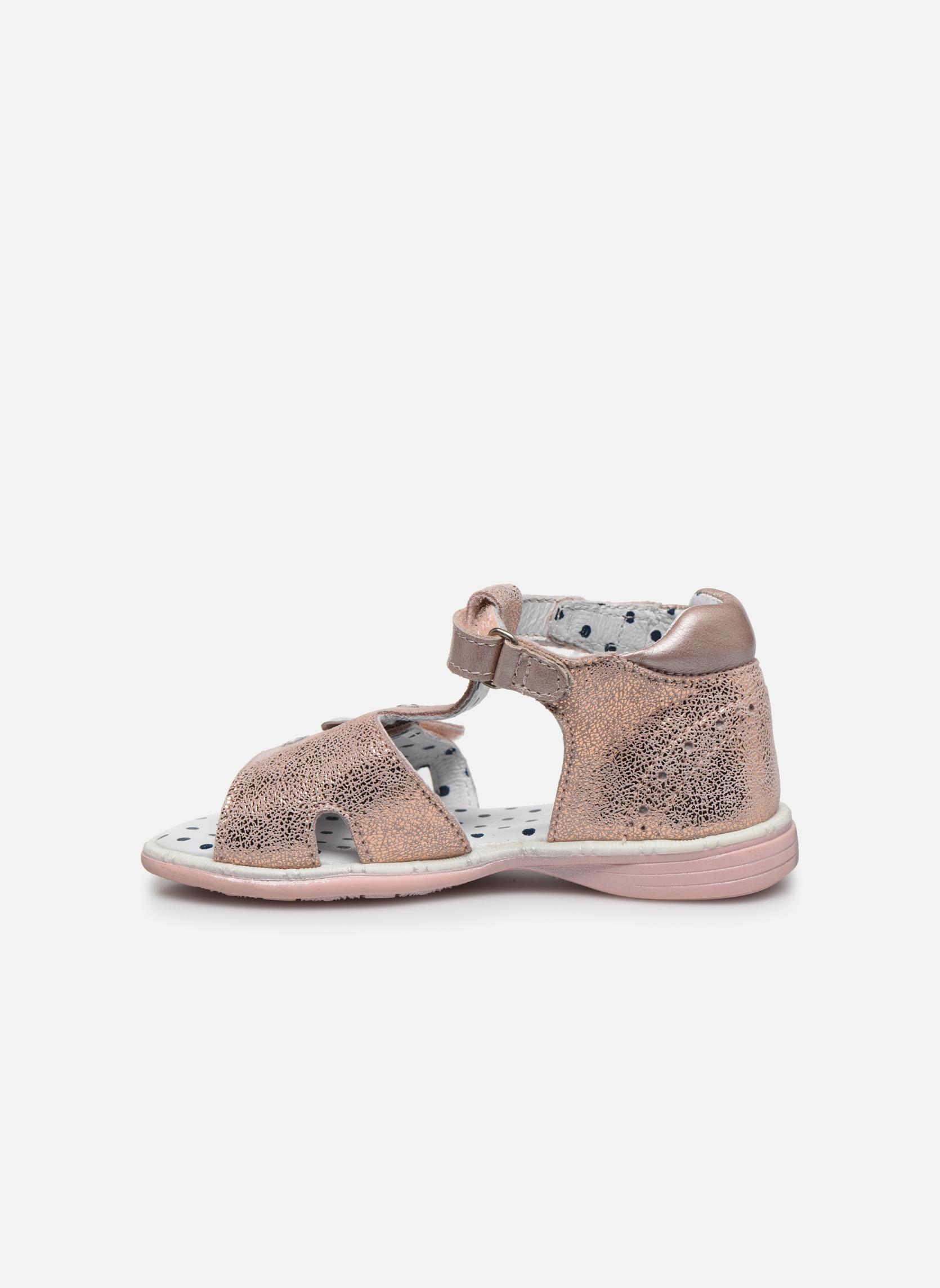 Sandales et nu-pieds Catimini Puce Rose vue face