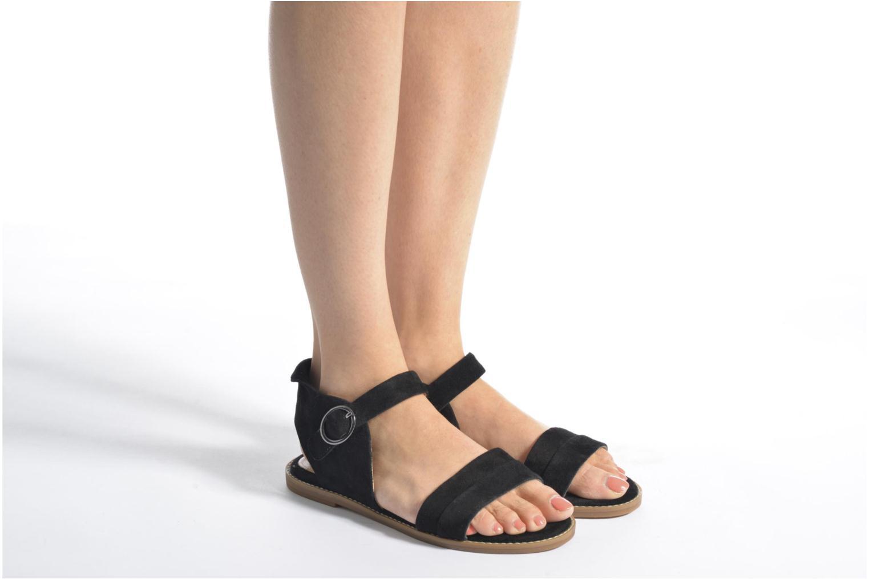 Sandales et nu-pieds Hush Puppies Abia Beige vue bas / vue portée sac