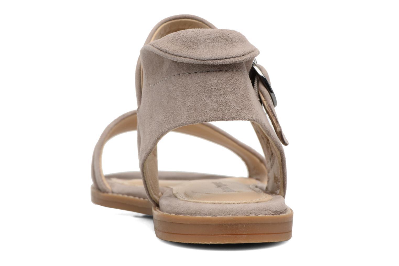Sandales et nu-pieds Hush Puppies Abia Beige vue droite