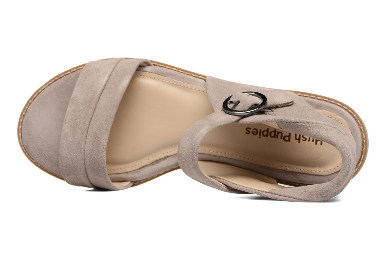 Sandales et nu-pieds Hush Puppies Abia Beige vue gauche