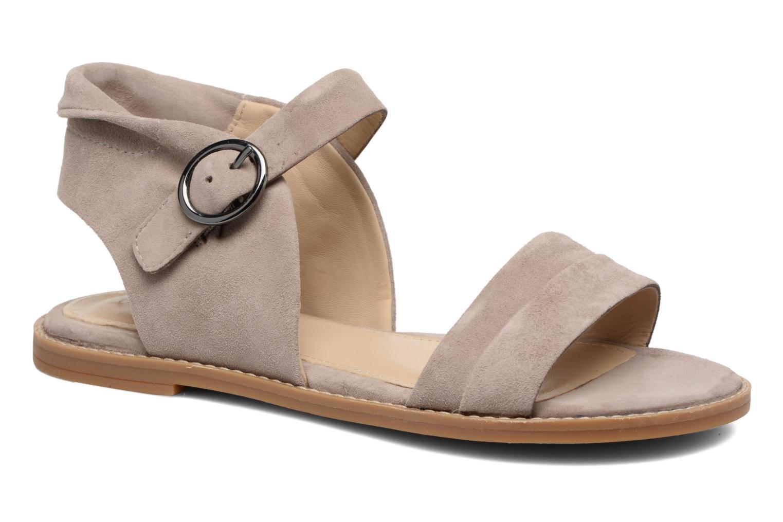 Sandales et nu-pieds Hush Puppies Abia Beige vue détail/paire
