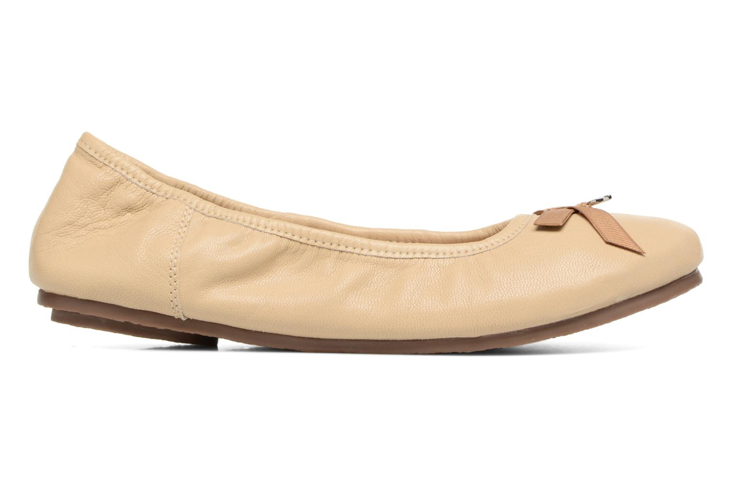 Ballet pumps Hush Puppies Lilas Beige back view