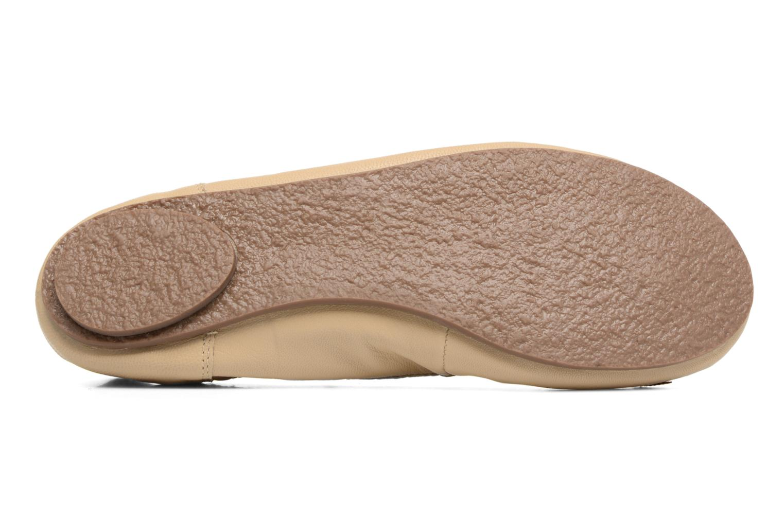 Ballet pumps Hush Puppies Lilas Beige view from above