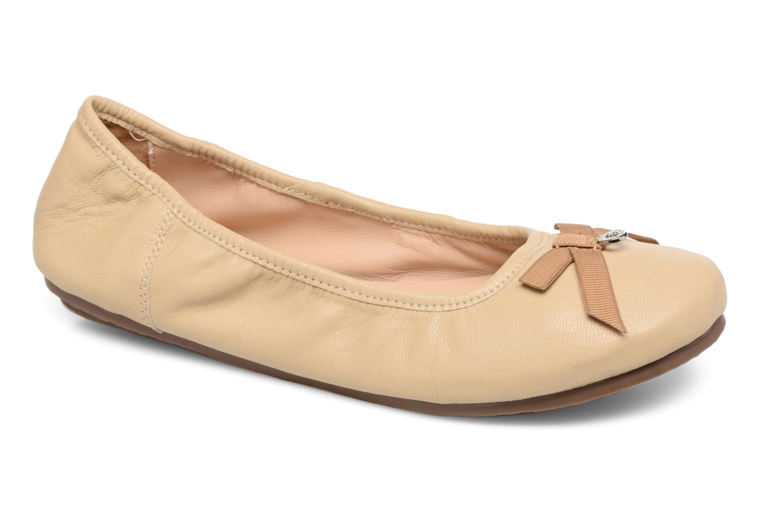 Ballet pumps Hush Puppies Lilas Beige detailed view/ Pair view