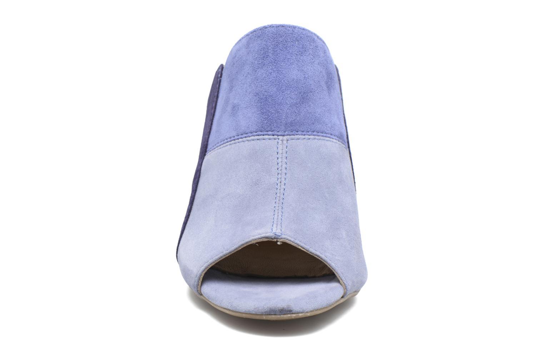 Sandales et nu-pieds Hush Puppies Sayer Bleu vue portées chaussures