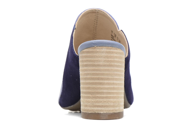 Sandales et nu-pieds Hush Puppies Sayer Bleu vue droite