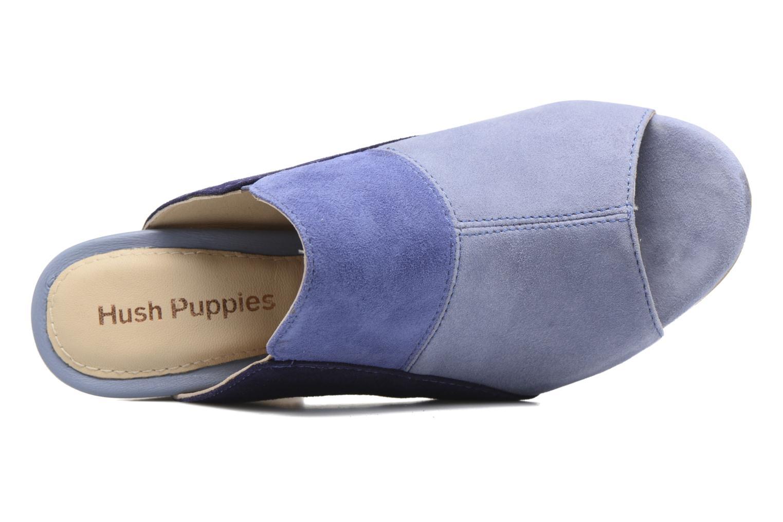 Sandales et nu-pieds Hush Puppies Sayer Bleu vue gauche