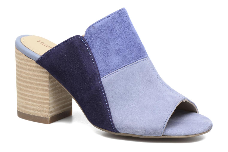 Sandales et nu-pieds Hush Puppies Sayer Bleu vue détail/paire