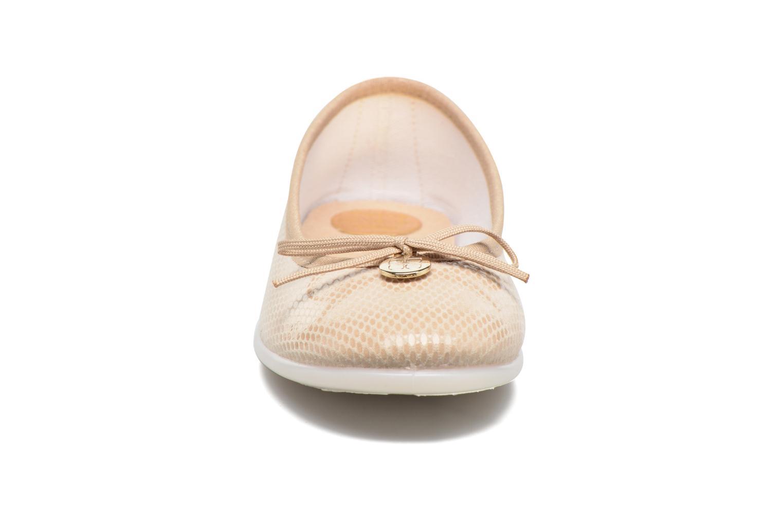 Ballerines Fresas by Conguitos Catalia Beige vue portées chaussures