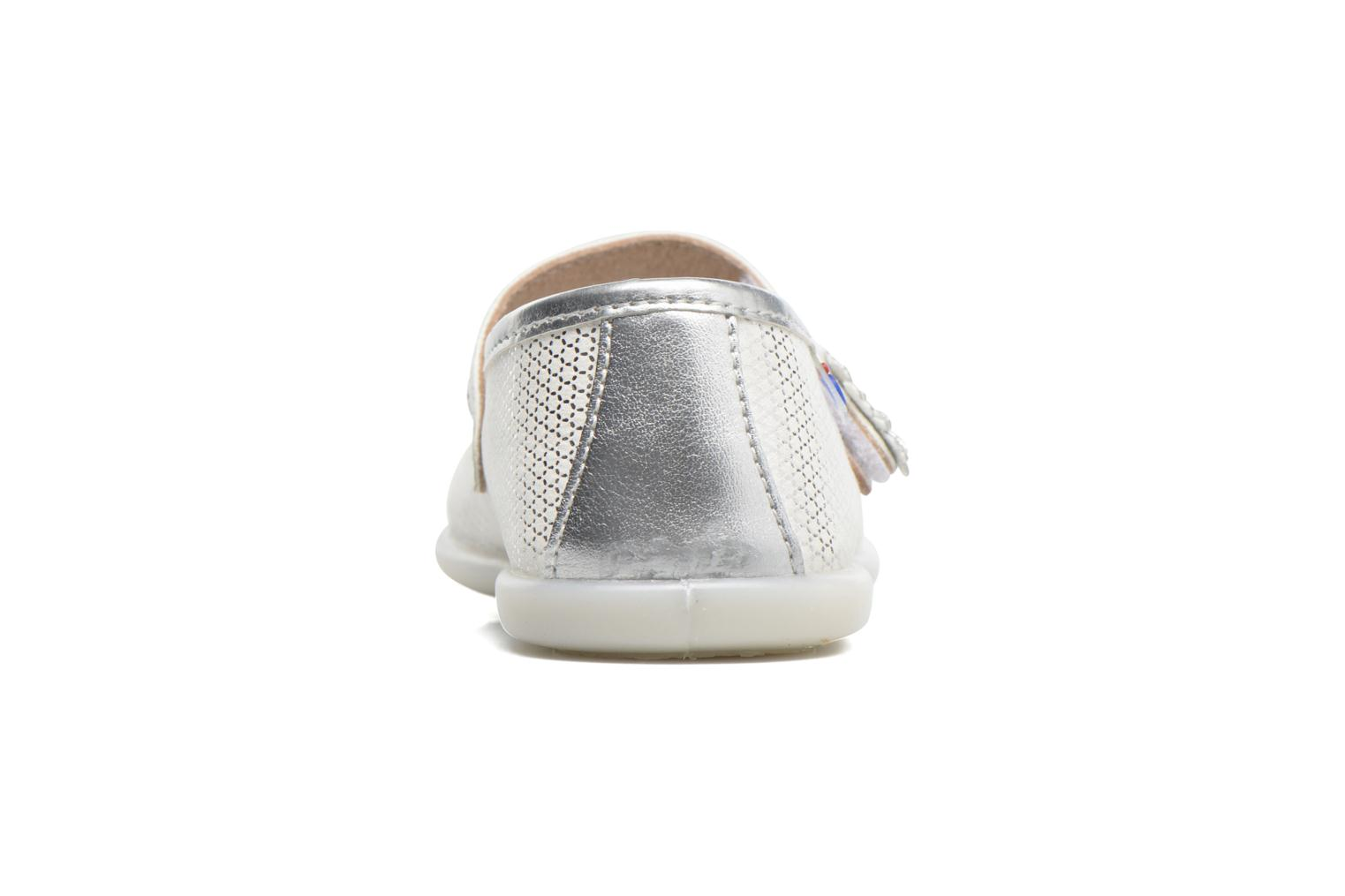 Ballet pumps Osito by Conguitos Alma Silver view from the right