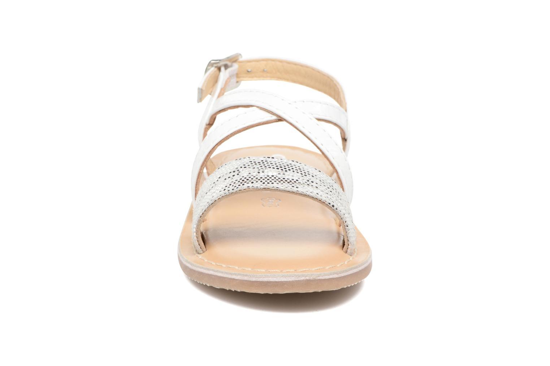 Sandales et nu-pieds Osito by Conguitos Alida Blanc vue portées chaussures