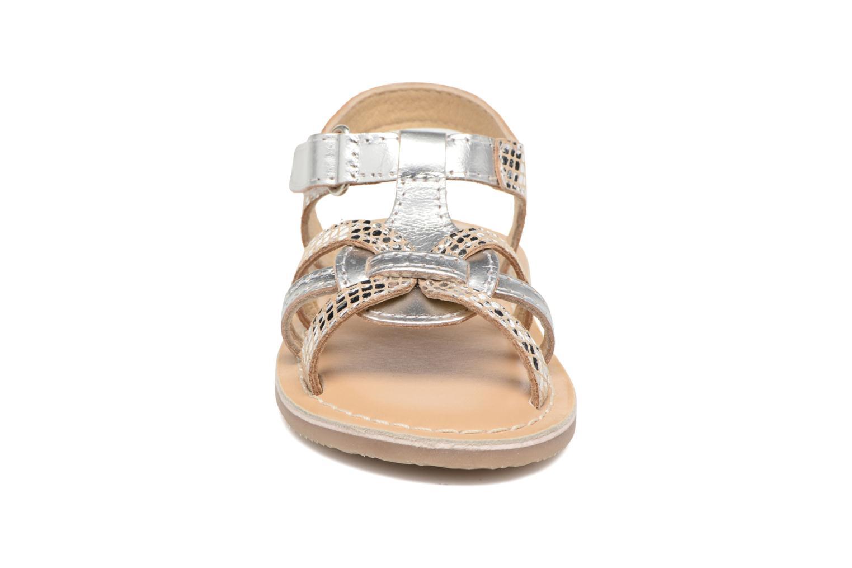 Sandales et nu-pieds Osito by Conguitos Antonella Argent vue portées chaussures