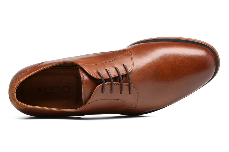 Chaussures à lacets Aldo RICMANN Marron vue gauche